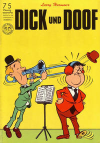 Cover Thumbnail for Dick und Doof (BSV - Williams, 1965 series) #43