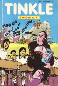 Cover Thumbnail for Tinkle Digest (India Book House, 1980 ? series) #194