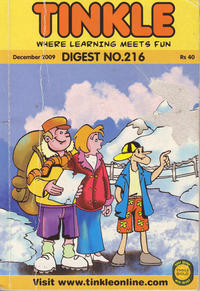 Cover Thumbnail for Tinkle Digest (ACK Media, 2009 ? series) #216