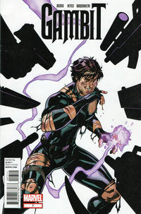 Cover Thumbnail for Gambit (Marvel, 2012 series) #7