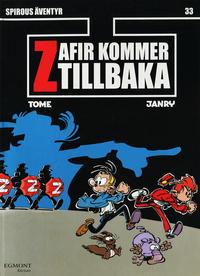 Cover Thumbnail for Spirous äventyr (Egmont, 2004 series) #33 - Zafir kommer tillbaka