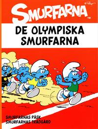 Cover Thumbnail for Smurfarna (Bokförlaget Semic, 2011 series) #3 - De olympiska Smurfarna