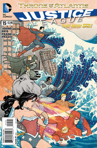 Cover Thumbnail for Justice League (DC, 2011 series) #15 [Variant Cover by Billy Tucci]