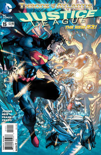 Cover Thumbnail for Justice League (DC, 2011 series) #15 [Variant Cover by Jim Lee]