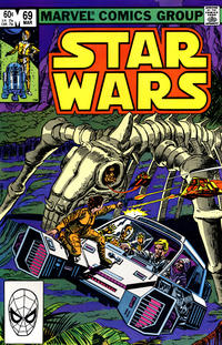Cover Thumbnail for Star Wars (Marvel, 1977 series) #69 [Direct Edition]