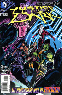 Cover Thumbnail for Justice League Dark (DC, 2011 series) #15