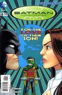Cover Thumbnail for Batman Incorporated (DC, 2012 series) #6
