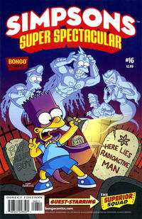 Cover Thumbnail for Bongo Comics Presents Simpsons Super Spectacular (Bongo, 2005 series) #16
