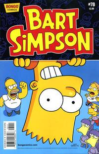 Cover for Simpsons Comics Presents Bart Simpson (Bongo, 2000 series) #78