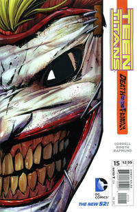 Cover Thumbnail for Teen Titans (DC, 2011 series) #15 [Direct Sales]