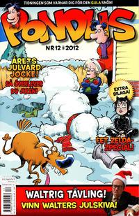 Cover Thumbnail for Pondus (Egmont, 2010 series) #12/2012