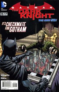 Cover Thumbnail for Batman: The Dark Knight (DC, 2011 series) #15