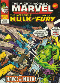 Cover Thumbnail for The Mighty World of Marvel (Marvel UK, 1972 series) #294