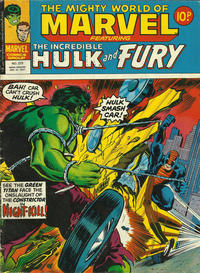 Cover Thumbnail for The Mighty World of Marvel (Marvel UK, 1972 series) #273