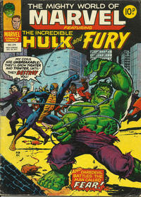 Cover Thumbnail for The Mighty World of Marvel (Marvel UK, 1972 series) #274
