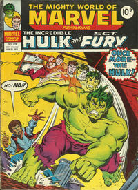 Cover Thumbnail for The Mighty World of Marvel (Marvel UK, 1972 series) #278