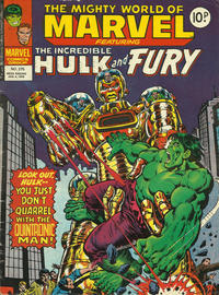Cover Thumbnail for The Mighty World of Marvel (Marvel UK, 1972 series) #275