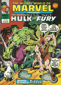 Cover Thumbnail for The Mighty World of Marvel (Marvel UK, 1972 series) #291