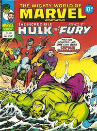 Cover Thumbnail for The Mighty World of Marvel (Marvel UK, 1972 series) #293