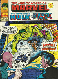 Cover for The Mighty World of Marvel (Marvel UK, 1972 series) #302