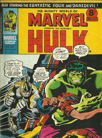 Cover Thumbnail for The Mighty World of Marvel (Marvel UK, 1972 series) #153