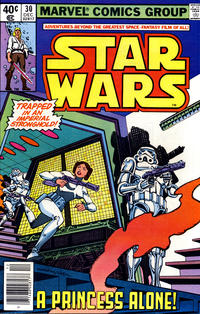 Cover Thumbnail for Star Wars (Marvel, 1977 series) #30 [Newsstand  Edition]