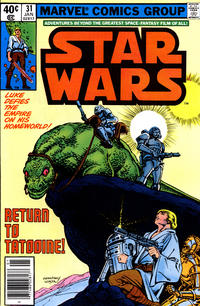 Cover Thumbnail for Star Wars (Marvel, 1977 series) #31 [Newsstand  Edition]