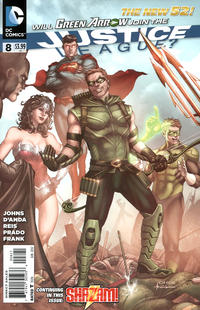 Cover Thumbnail for Justice League (DC, 2011 series) #8 [Mike Choi Cover]