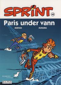 Cover Thumbnail for Sprint (Hjemmet / Egmont, 1998 series) #48 - Paris under vann [Reutsendelse 803 65]