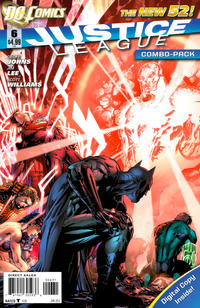 Cover Thumbnail for Justice League (DC, 2011 series) #6 [Combo-Pack Edition Cover by Jim Lee]