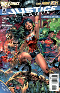 Cover Thumbnail for Justice League (DC, 2011 series) #3 [Combo-Pack Edition Cover by Jim Lee]