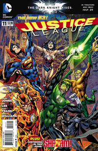 Cover Thumbnail for Justice League (DC, 2011 series) #11 [Bryan Hitch Cover]