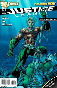 Cover Thumbnail for Justice League (DC, 2011 series) #4 [Combo-Pack Edition Cover by Jim Lee]