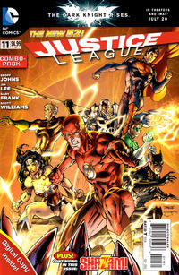 Cover Thumbnail for Justice League (DC, 2011 series) #11 [Combo-Pack Edition Cover by Jim Lee]