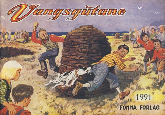 Cover for Vangsgutane (Fonna Forlag, 1941 series) #1991