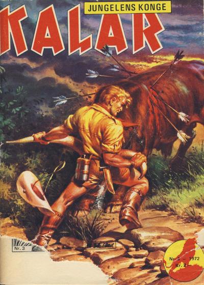 Cover for Kalar (Serieforlaget / Se-Bladene / Stabenfeldt, 1971 series) #3/1972