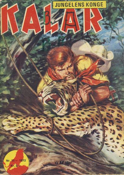 Cover for Kalar (Serieforlaget / Se-Bladene / Stabenfeldt, 1971 series) #11/1972