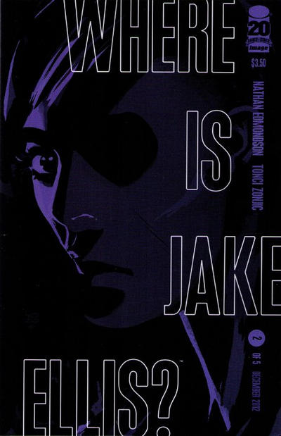 Cover for Where Is Jake Ellis? (Image, 2012 series) #2