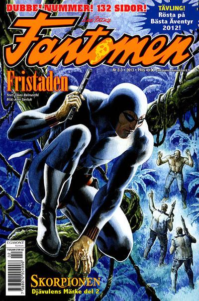 Cover for Fantomen (Egmont, 1997 series) #2-3/2013