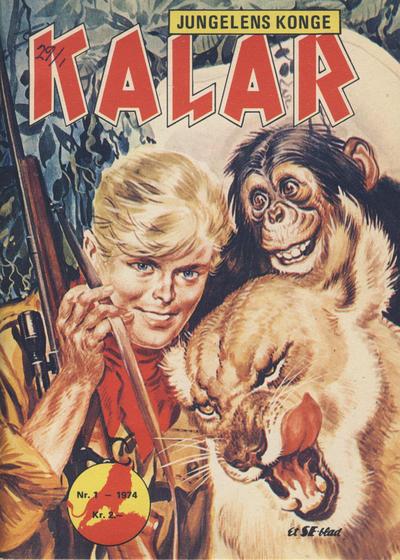 Cover for Kalar (Serieforlaget / Se-Bladene / Stabenfeldt, 1971 series) #1/1974