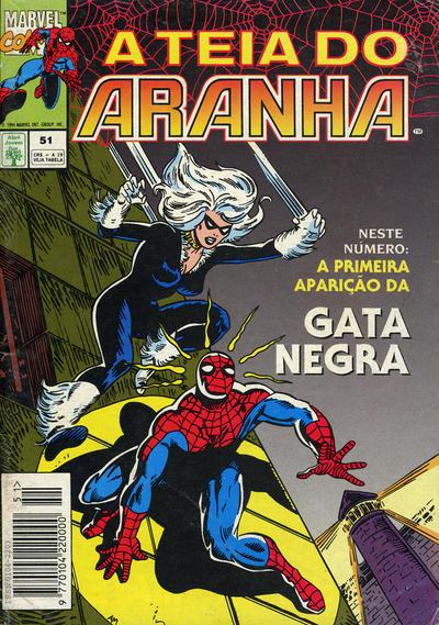 Cover for A Teia do Aranha (Editora Abril, 1989 series) #51
