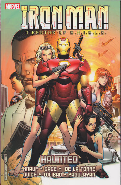 Cover for Iron Man: Haunted (Marvel, 2008 series)