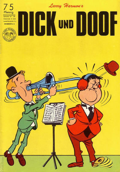 Cover for Dick und Doof (BSV - Williams, 1965 series) #43