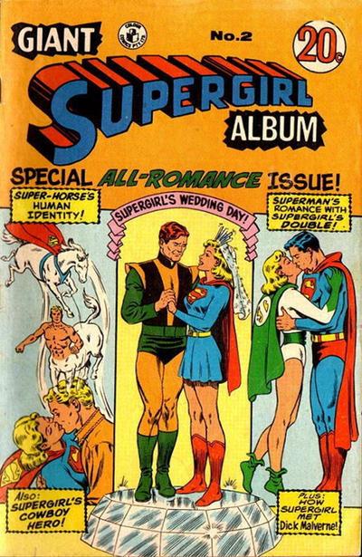 Cover for Giant Supergirl Album (K. G. Murray, 1970 series) #2