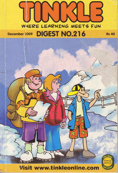 Cover for Tinkle Digest (ACK Media, 2009 ? series) #216