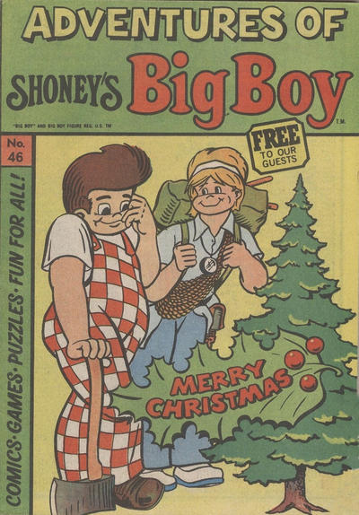 Cover for Adventures of Big Boy (Paragon Products, 1976 series) #46
