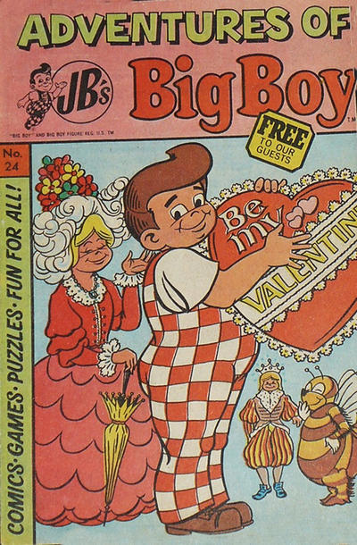 Cover for Adventures of Big Boy (Paragon Products, 1976 series) #24