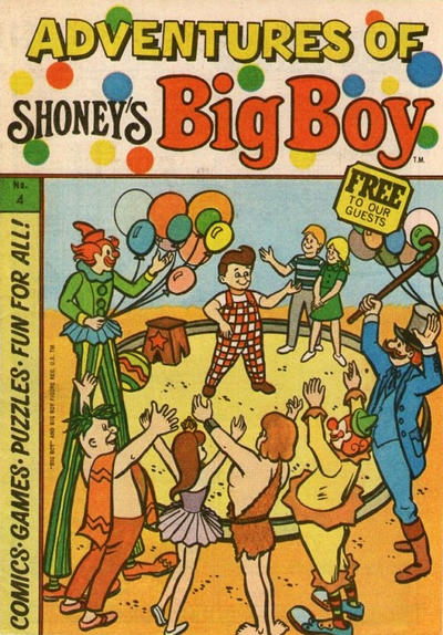 Cover for Adventures of Big Boy (Paragon Products, 1976 series) #4