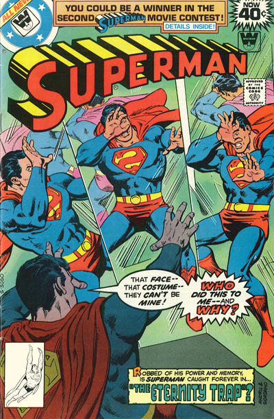 Cover for Superman (DC, 1939 series) #332