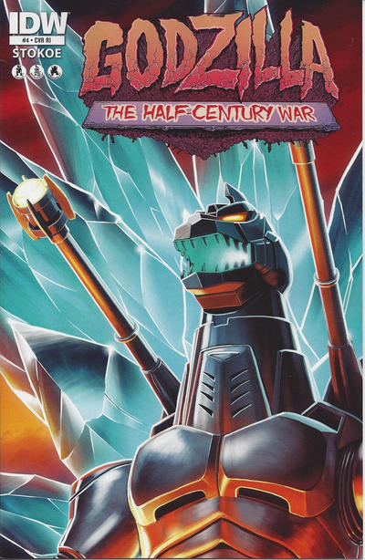 Cover for Godzilla: The Half-Century War (IDW, 2012 series) #4 [Retailer incentive]